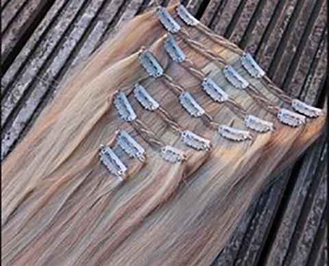 תוספות שיער טרס עם קליפסים