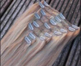 תוספות שיער קליפסים - נונה תוספות שיער