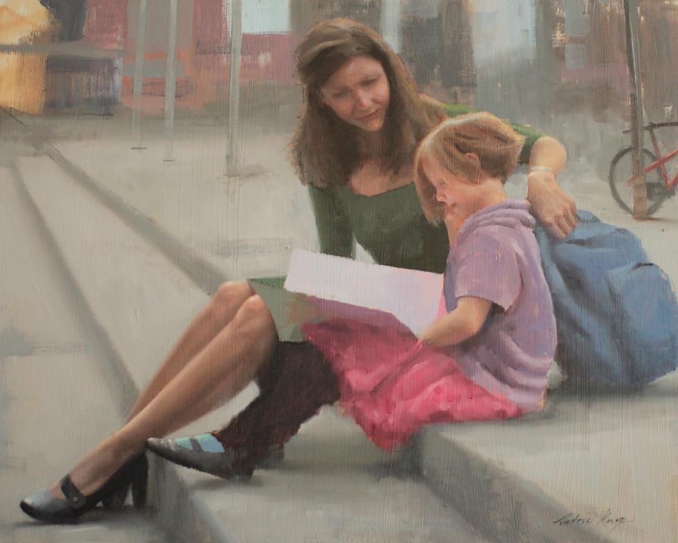 A.Kemp.Mother&Daughter.2016.Oil.jpg