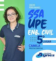 CAMILA FREITAS DANTAS - ENGENHARIA CIVIL