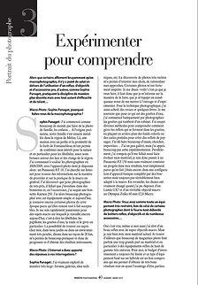 """macro photographie"" magazine ""Sophie Panaget"""