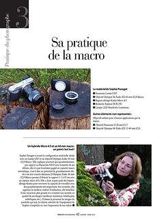 """macro photographie"" magazine ""Sophie Panaget"