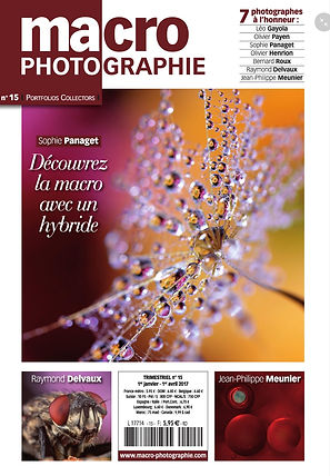 """Sophie Panaget"" ""macro photographie"" magazine"