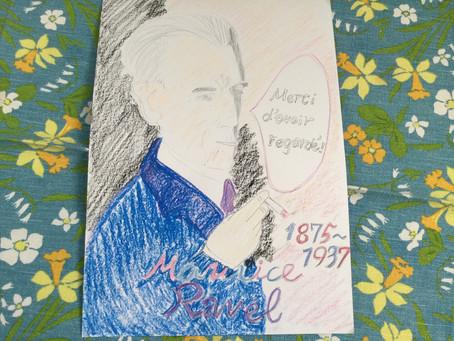 春生まれのラベルくん!〜Happy Birthday,Maurice Ravel!