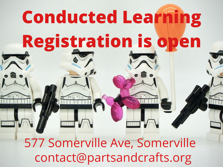 Registration for the Center for Semi-Conducted Learning is Open!