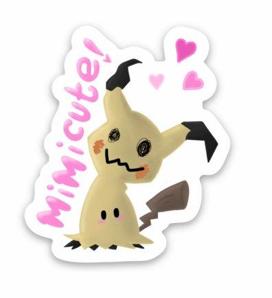 Mimikyu Sticker (Pokémon)