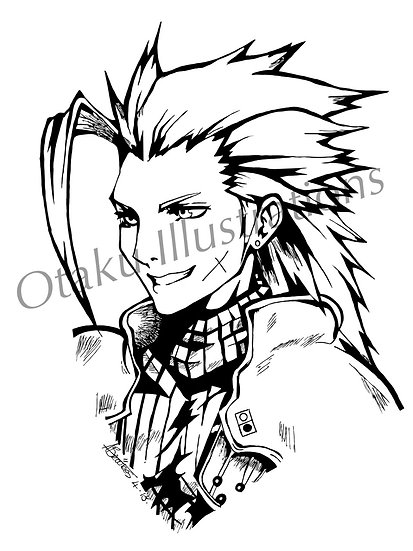 Zack Fair Digital Download (Final Fantasy)