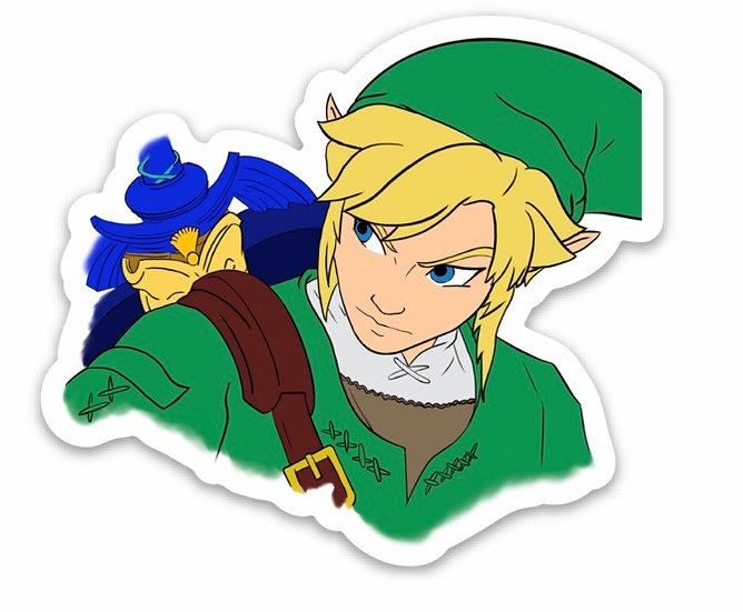 Link Sticker (The Legend of Zelda)