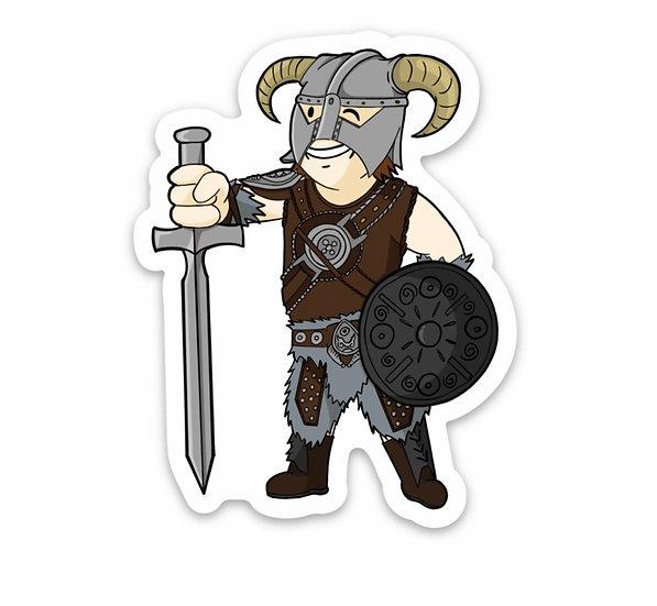 Davahkiin Vault Boy Sticker (Skyrim/Fallout)