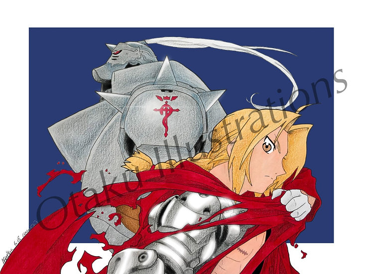 Ed & Al Digital Download (Full Metal Alchemist)