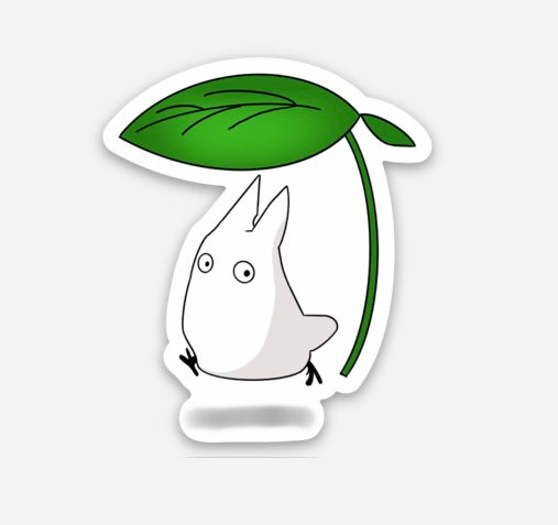 Small Totoro Sticker (My Neighbour Totoro)