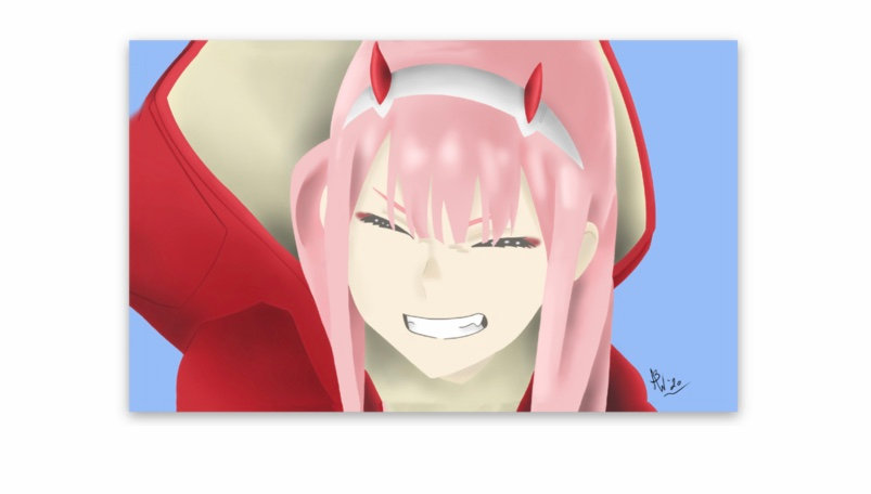 Zero-Two Sticker (Darling in the Franxx)