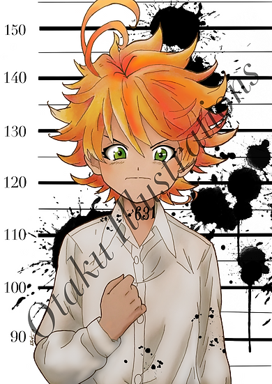 Emma Print (The Promised Neverland)