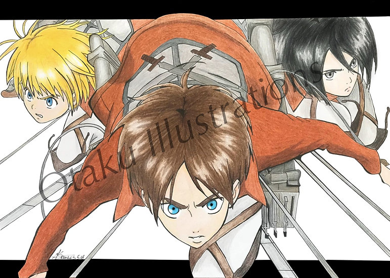 Cadet Corps Print (Attack on Titan)