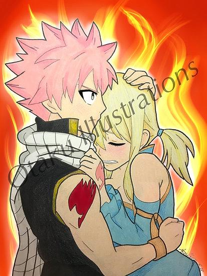 Natsu & Lucy Digital Download (Fairy Tail)