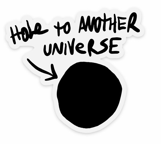 Hole to Another Universe Transparent Sticker (Life is Strange)