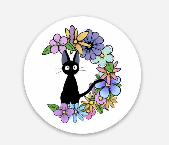 Jiji Sticker (Kiki's Delivery Service)