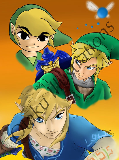 Link Digital Download (The Legend of Zelda)