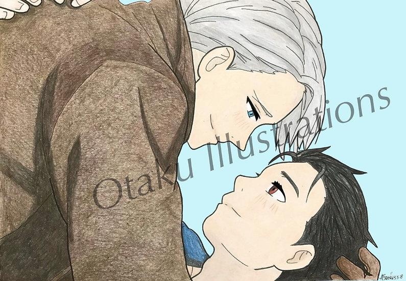 Victor & Yuri Digital Download (Yuri On Ice)