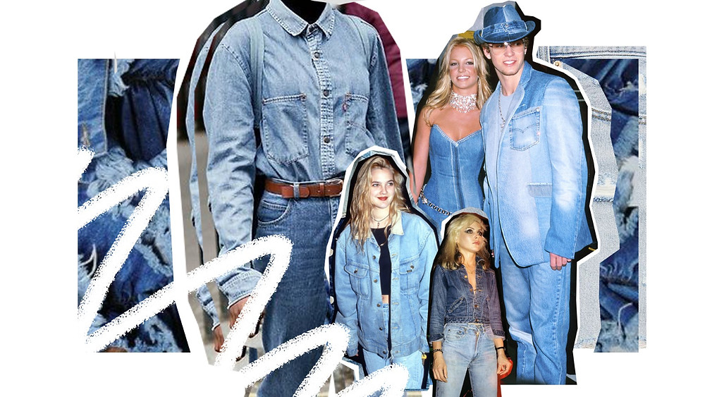 justin timberlake britney spears double denim 2001 amas