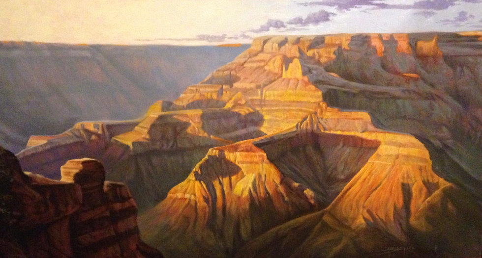 """The Grand View"" Grand Canyon Giclee"