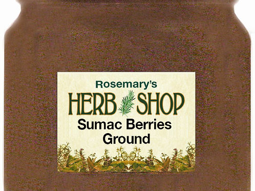 Sumac Berries Ground