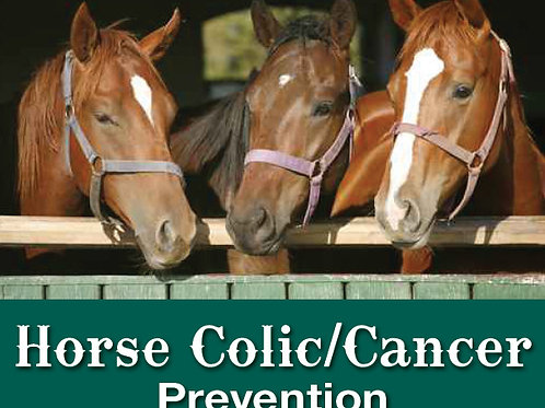 Horse Colic/Cancer Prevention