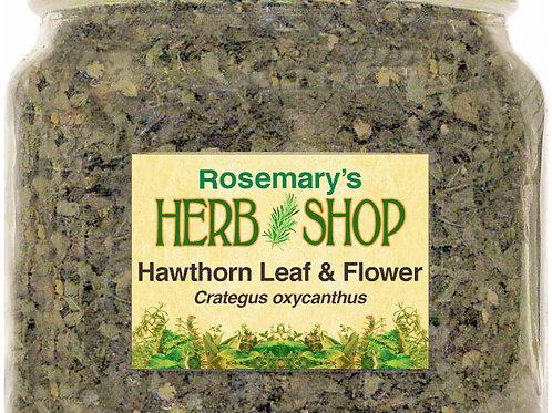Hawthorn Leaf & Flower