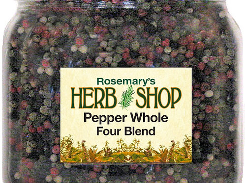 Peppercorns, Whole - Four Blend