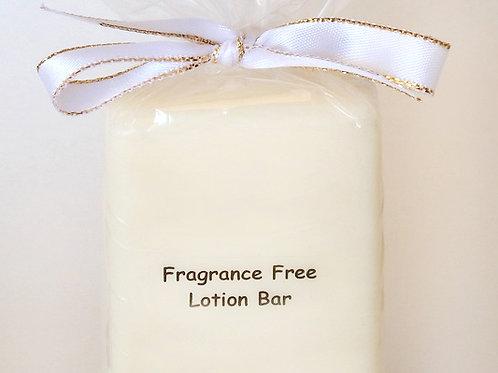 Fragrance Free Lotion Bar