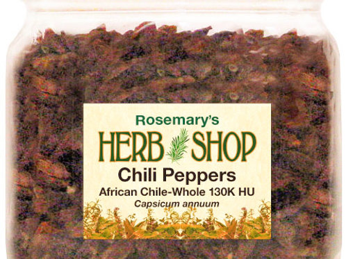Chili Peppers African-Whole 130K HU