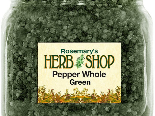 Pepper, Whole Green