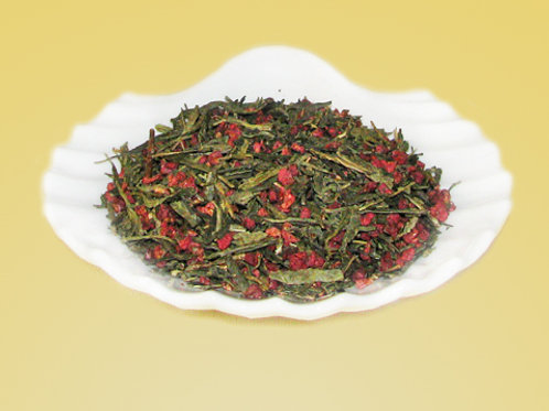 Raspberry Green Tea-blend
