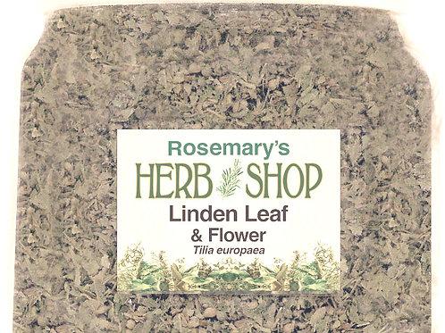 Linden Leaf & Flowers