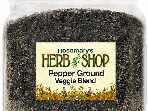 Pepper, Ground Veggie Blend