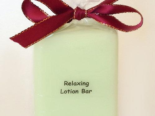 Relaxing Lotion Bar