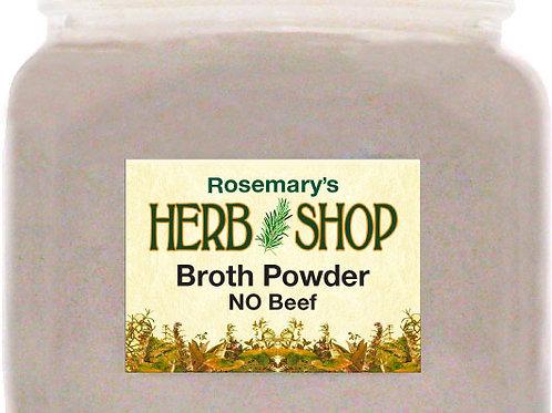Broth Powder - No Beef
