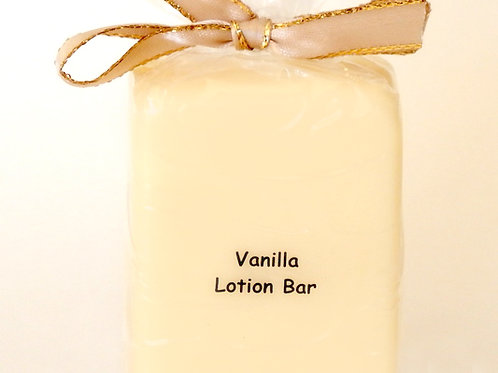 Vanilla Lotion Bar