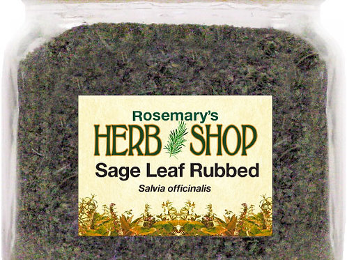 Sage Leaf Rub