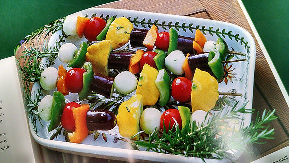 Barbecued Veggies