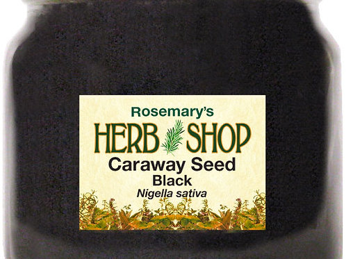 Caraway Seeds - Black