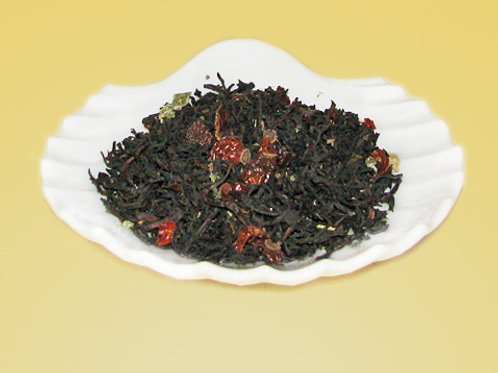 Pomegranate Rosehip Black Tea - Blend