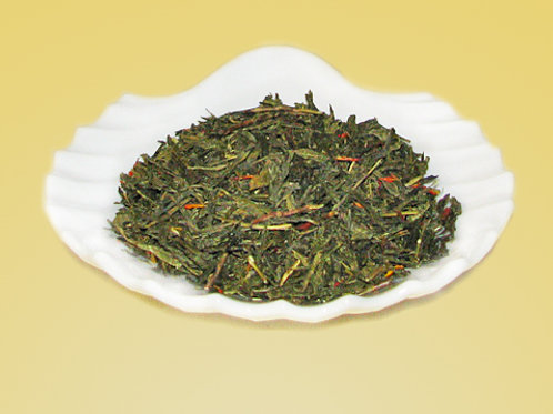 Orange Green Tea - Japanese