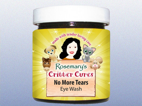 No More Tears - Eye Wash (4oz)