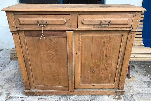 Mueble aparador en madera rústica - pino blanco