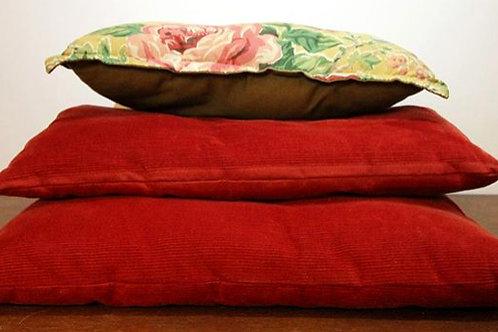 Set de 3 almohadones cuadrados