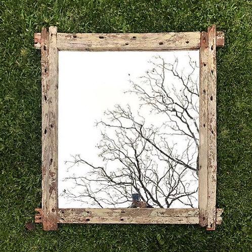Espejo con marco piques antiguos