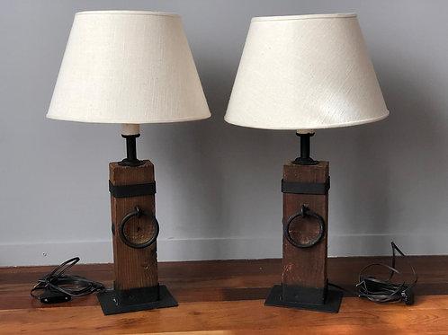 Promo - Juego de 2 lámparas de mesa