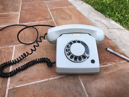 Teléfono retro decorativo