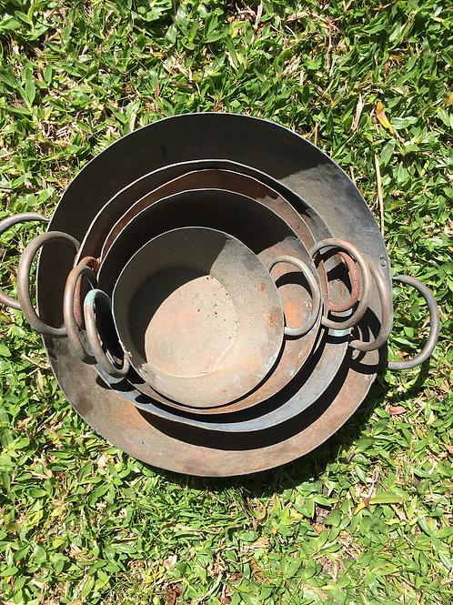 Set platos cobre 5pcs